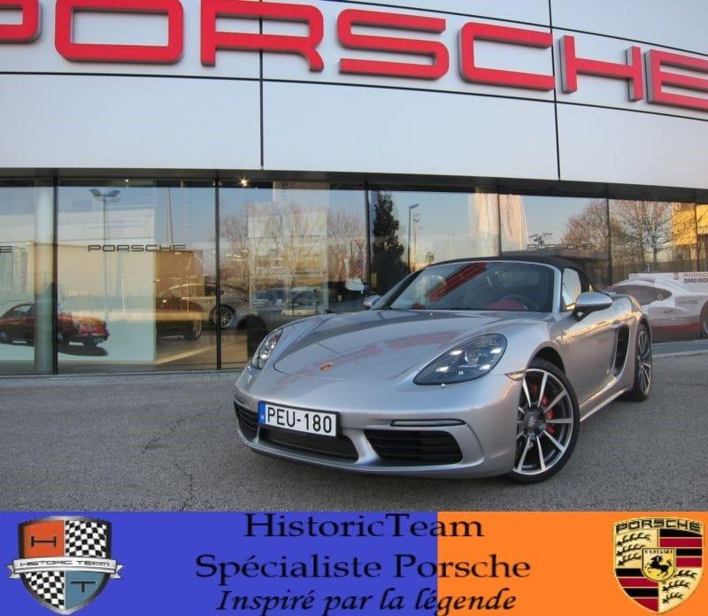Porsche Boxster 718 s 349ch