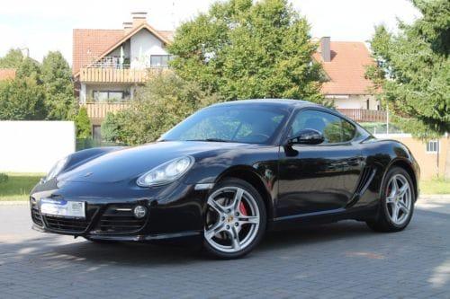 Porsche Cayman Noir 265ch