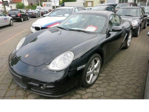 Porsche Cayman 245ch Noir