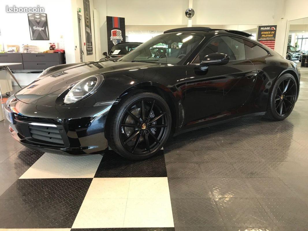Porsche 911 992 Carrera 1ère main malus payé