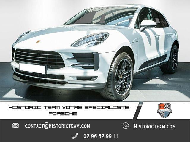 Porsche Macan 2019 Blanc - Malus inclus