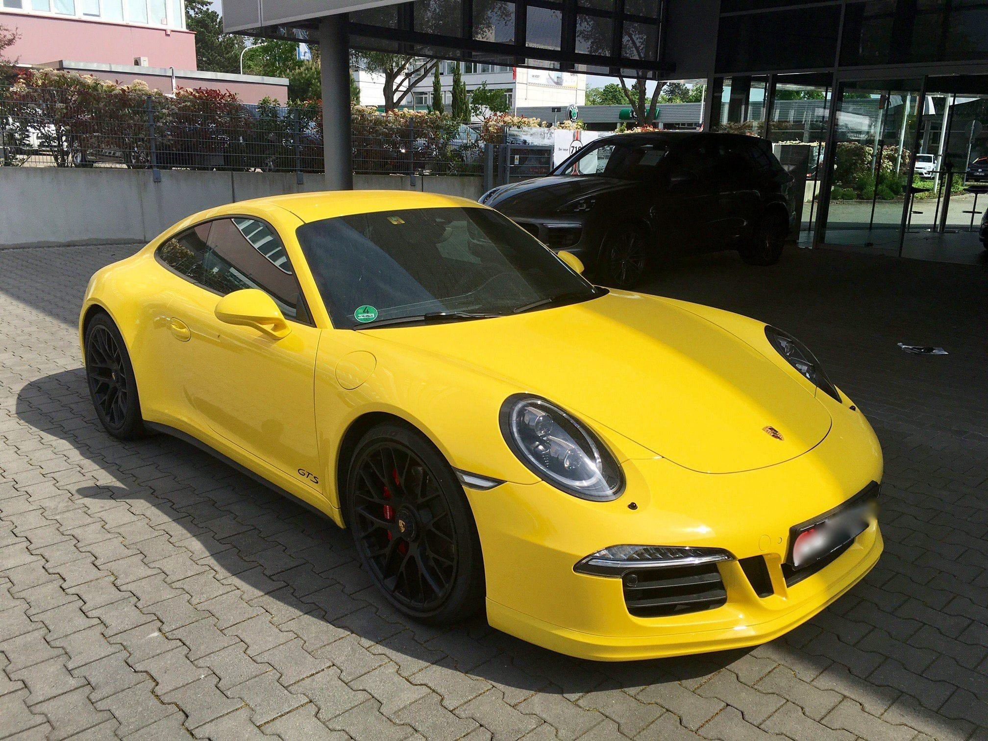 Porsche récentes (à partir de 2008) en serie limitées tous les détails