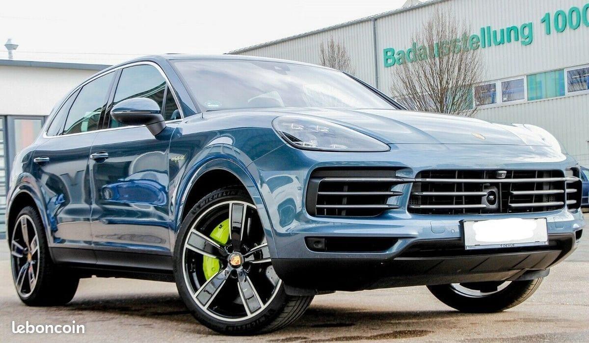 Porsche Cayenne Hybride 1ère main TVA apparente