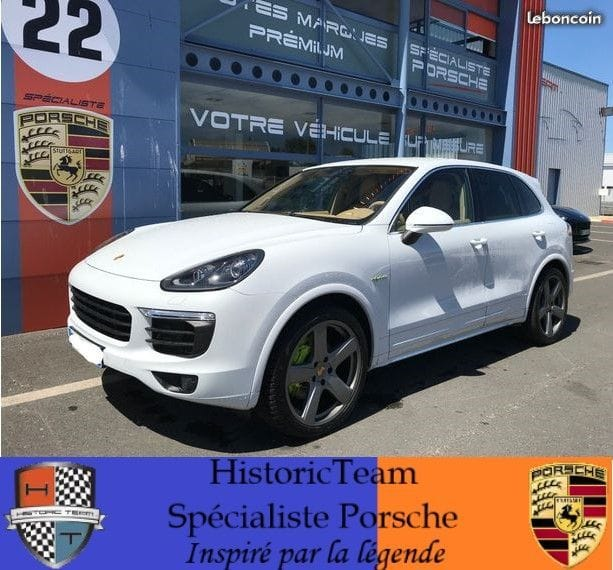 Porsche Cayenne V6 Hybrid 416ch