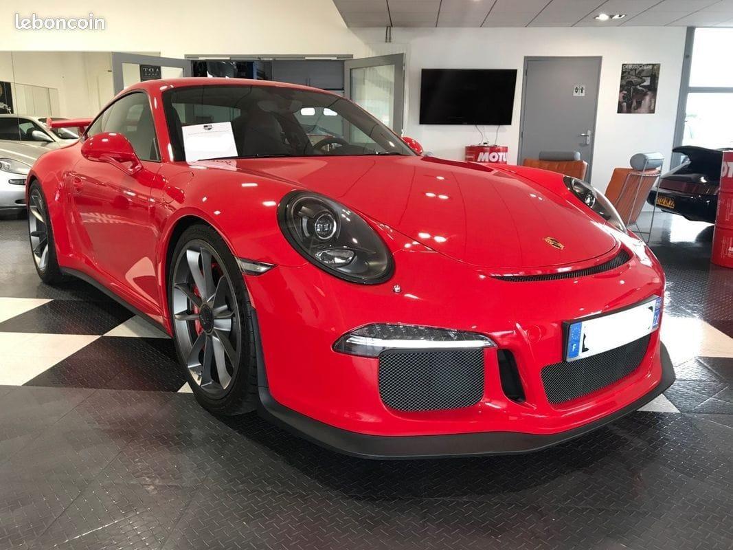 Porsche 911 991 GT3 3,8l État neuf
