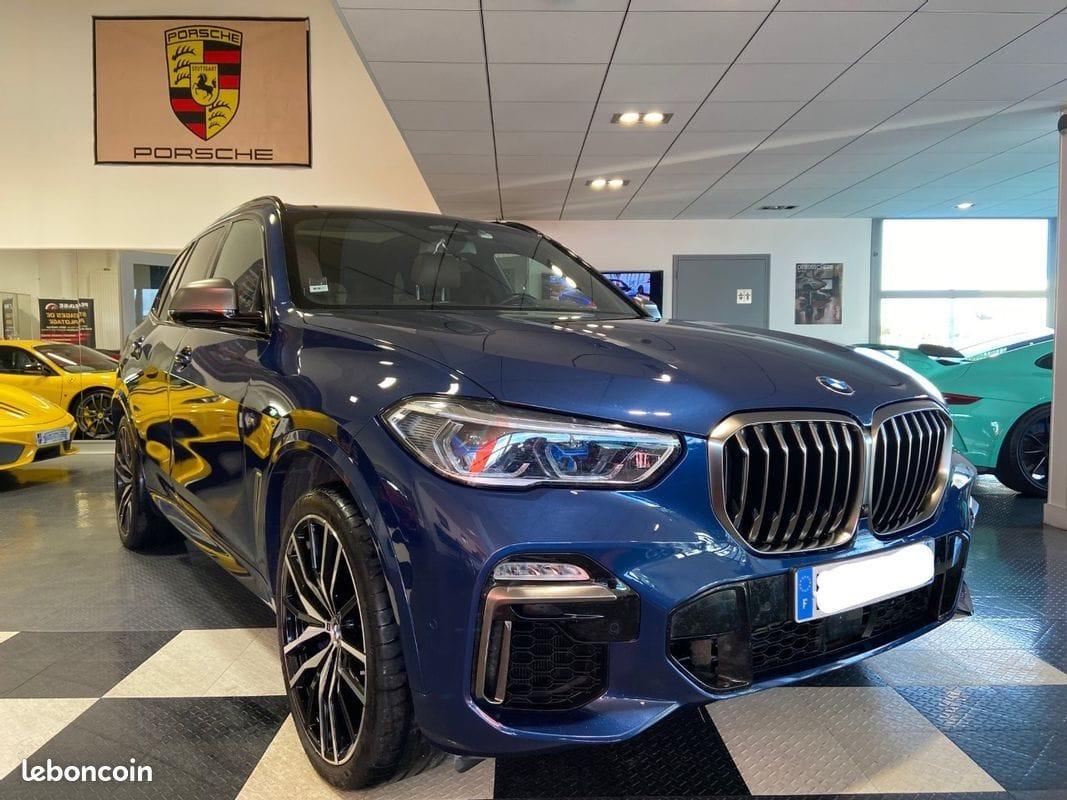BMW X5 M50D 1ère main