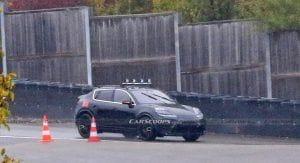 Les premières images du nouveau Porsche Macan électrique