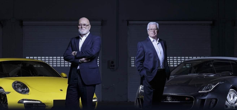 Jean-Charles Rosé et Alain Boishardy, fondateurs d'Historic Team