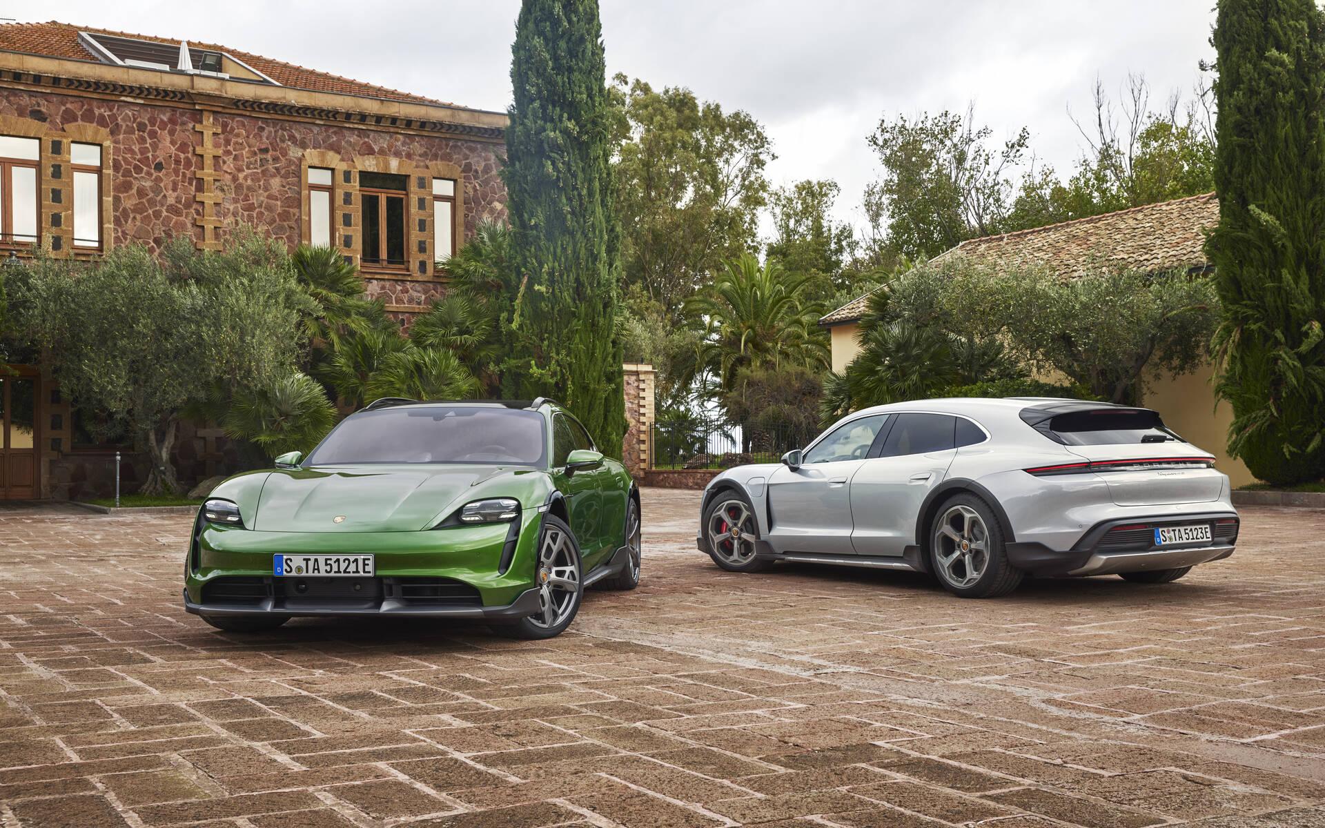 Porsche dévoile la Taycan Cross Turismo, la baroudeuse élégante